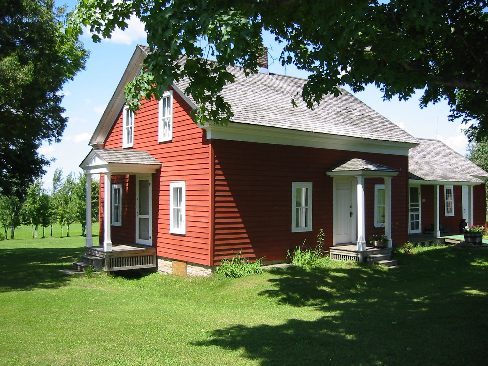 The Wilder Farmhouse is the only home mentioned in the Little House books that is still standing on its original foundation.